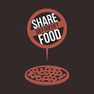 Joey Doesn't Share Food! - Friends by 4ogo Design