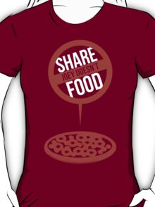 Joey Doesn't Share Food! - Friends T-Shirt