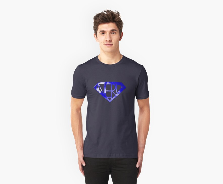 Blue Super Nerd by Packrat