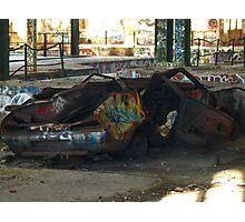 Datsun 120Y Photographic Print