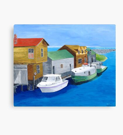 Fishtown Canvas Print