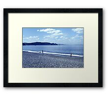 Bellevue Beach Framed Print