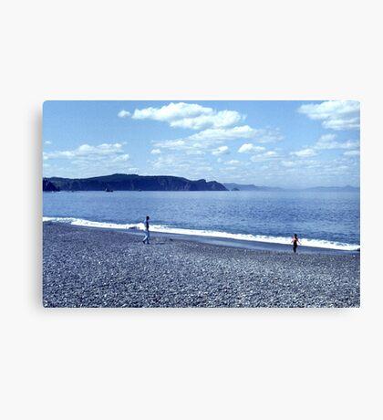 Bellevue Beach Canvas Print
