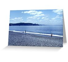 Bellevue Beach Greeting Card