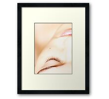 Precious in Pink Framed Print
