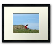 Driven to the Brink Framed Print