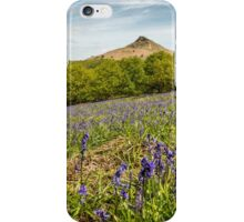 Roseberry Topping Bluebells iPhone Case/Skin