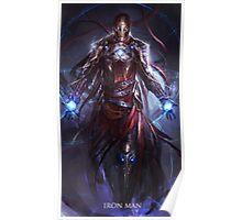 Iron man, Sorcerer of Snark Poster