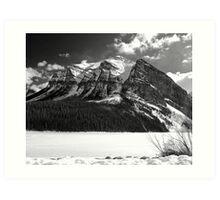 Fairview Mountain ~ Lake Louise  ~  Alberta Art Print