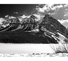 Fairview Mountain ~ Lake Louise  ~  Alberta Photographic Print