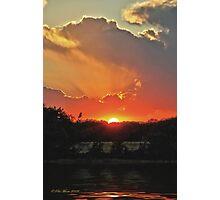 Majestic Sunset Photographic Print