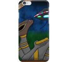 Mayan Alien Golden Bowl iPhone Case/Skin