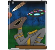 Mayan Alien Golden Bowl iPad Case/Skin