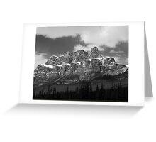 Castle Mountain ~ Banff National Park ~ Alberta Greeting Card