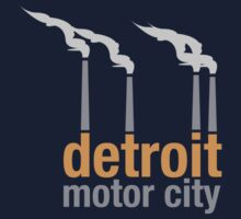 Detroit Motor City T-Shirt