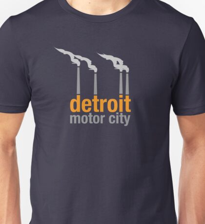 Detroit Motor City Unisex T-Shirt