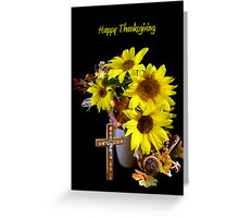 Sunflowers of Faith Greeting Card