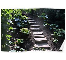 Up the stony path Poster
