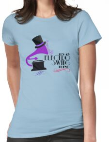 Electro Swing Womens Fitted T-Shirt