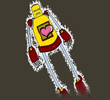 Heart Throb Neon-Bot Womens Fitted T-Shirt