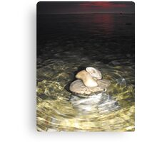 Toppled through the Water Canvas Print