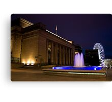 City Hall and the Wheel Canvas Print