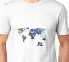World Map of Koi Unisex T-Shirt