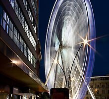 The Spinning Wheel by Dave Warren