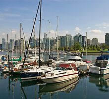Coal Harbour, Vancouver, Canada by rgstrachan