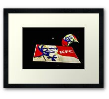 Admired all over the world - a Full moon. Framed Print