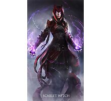 Scarlet Witch Photographic Print