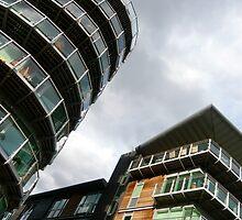 insomniac photos - rising buildings  by Brian Fitzpatrick