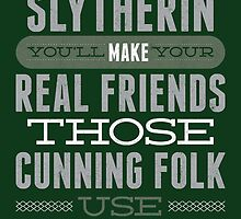 Slytherin by Dorothy Timmer