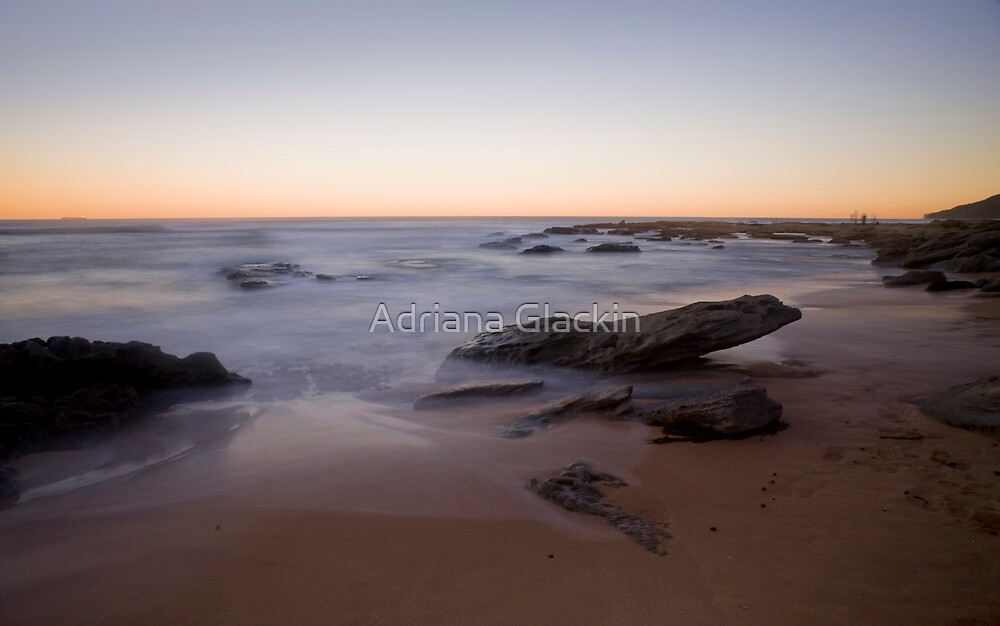 Towoon Bay at Sunset by Adriana Glackin