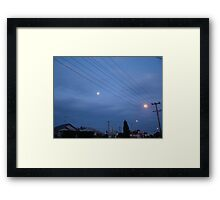 His and Ours Framed Print