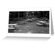 Where to sit? Greeting Card