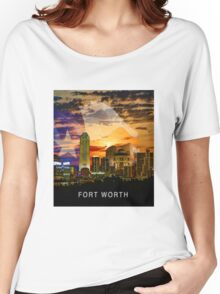 Fort Worth Skyline Women's Relaxed Fit T-Shirt