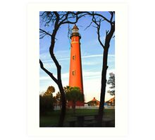 Ponce de Leon Light Art Print