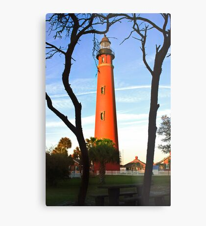 Ponce de Leon Light Metal Print