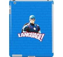 Do You Kiss Your Mother With That Mouth? iPad Case/Skin