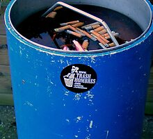 How to market your business on a Trash can by patjila