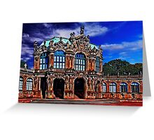 Zwinger Palace Dresden Germany Greeting Card