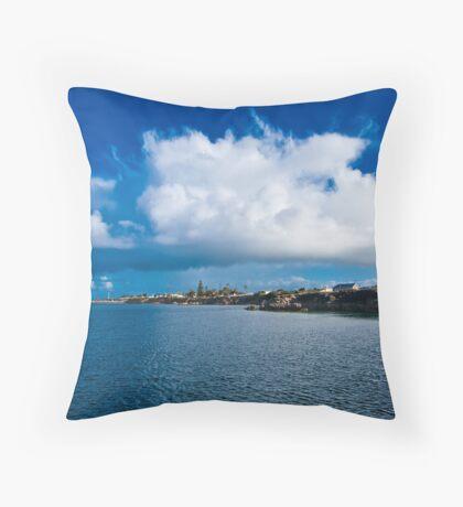 The Amazing Cloud - Edithburgh - South Australia Throw Pillow
