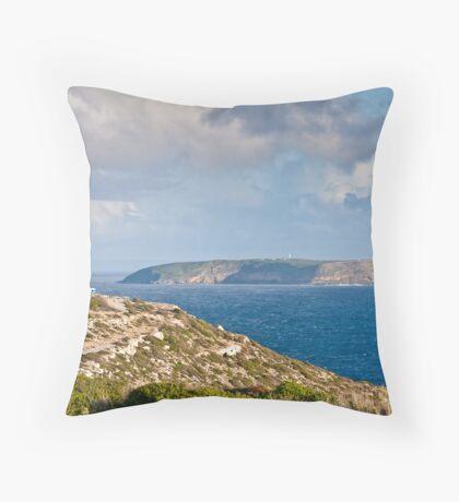 Cape Spencer & Althorpe Island - Yorke Peninsula SA Throw Pillow