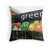 The Edge Green Grocer Throw Pillow