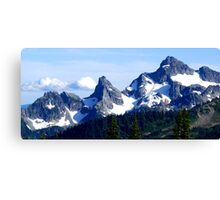 Goat Island Panoramic Canvas Print