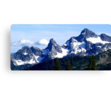 Goat Island Panoramic Canvas Print