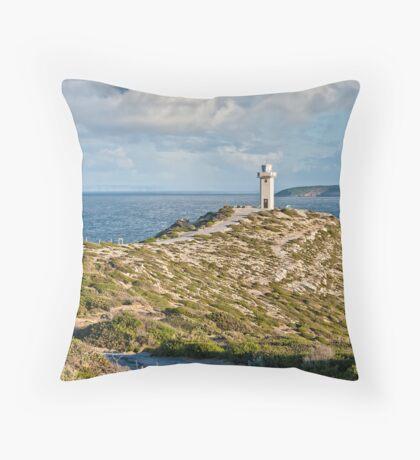 Cape Spencer Lighthouse Throw Pillow