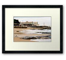 Newcastle Beach Framed Print
