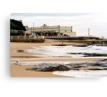 Newcastle Beach Canvas Print